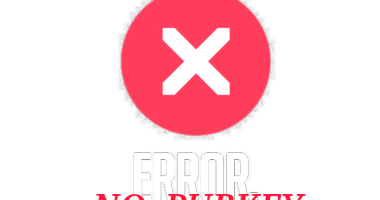 NO_PUBKEY_error
