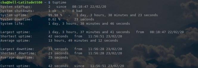 """Vérifier la disponibilité de votre VPS - Monitorer le """"uptime"""" avec tuptime"""