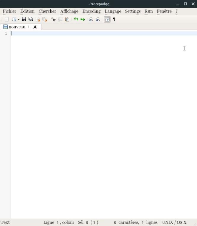 look des applications QT - Notepadqq