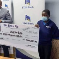FDH Bank Honors 1 Million Kwacha Promise to Made See