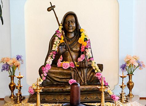 Murti de Shankar ARcharya en SAT, California.