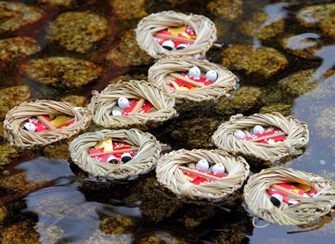 Nagashi bina, festival de las muñecas en periodo Heian