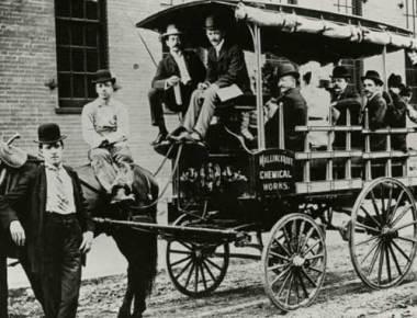 Mallinckrodt Throwback Thursday - Carriage Driver