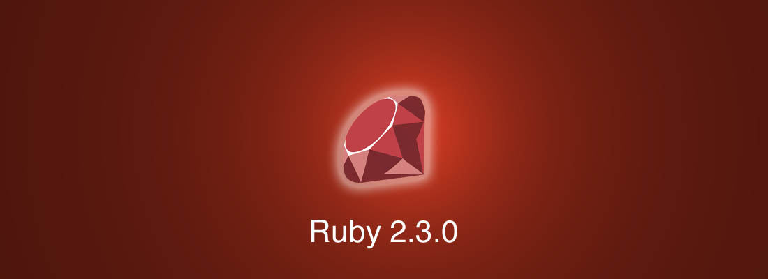 Ruby 2.3.0