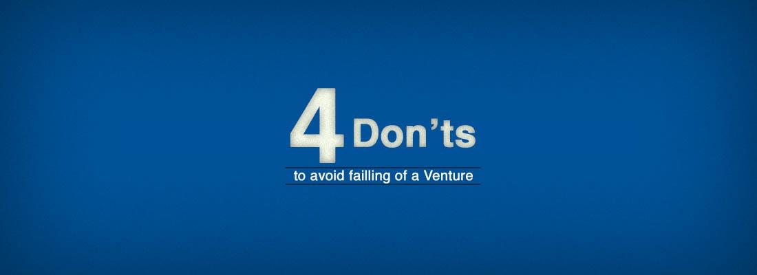 4 Don'ts