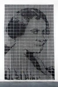 Sonya Clark, Madam CJ Walker (large), 2008. Combs. Courtesy of the artist. Photo: Taylor Dabne