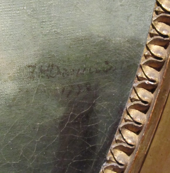Catherine Lusurier (French, ca. 1752-1781), Charlotte-Françoise DeBure (detail), 1776. Oil on canvas, 29 1/2 x 24 in. Milwaukee Art Museum, Bequest of Arthur & Noryne Riebs, M1959.80.
