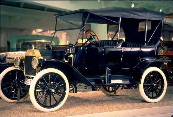 "Henry Ford's ""Model T"". 15,000,000 were produced from 1908-1927. Image from The Henry Ford. www.hfmgv.org."