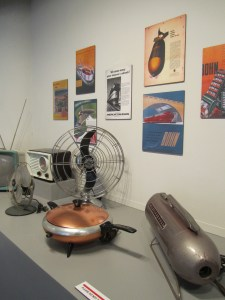 """Installation shot, MIAD's """"Style, Innovation, & Vision"""" exhibition. Photo by the author."""