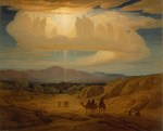 Elihu Vedder (American, 1836–1923) Star of Bethlehem, 1879–80 . Oil on canvas; 36 3/16 x 44 3/4 in. Milwaukee Art Museum, Gift of Mrs. Montgomery Sears, M1925.2