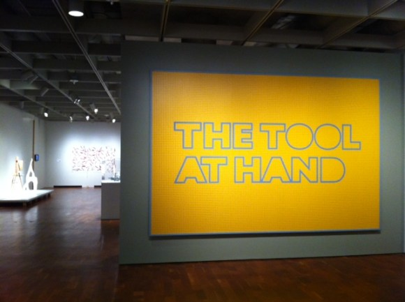 Title wall for The Tool at Hand. Photo by the author