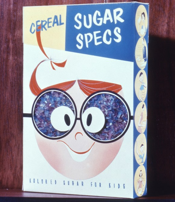 Sugar Specs box, 1958 Brooks Stevens Archive, Milwaukee Art Museum, Gift of the Brooks Stevens Family and the Milwaukee Institute of Art and Design
