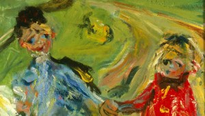 Chaïm Soutine (Russian, 1893–1943, active in France), Children and Geese (detail), 1934. Oil on canvas. Milwaukee Art Museum, Gift of Mrs. Harry Lynde Bradley M1959.375. Photo credit: Efraim Lev-er. ©2010 Artists Rights Society (ARS), New York / ADAGP, Paris.
