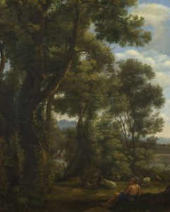 Claude Lorrain (French, 1604/5?–1682), Landscape with a Goatherd and Goats, ca. 1636–37. Oil on canvas. The National Gallery, London, Presented by Sir George Beaumont, NG58.