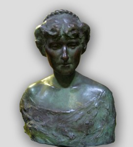 G. Salvatore Cartaino Scarpitta (American, 1887–1948), Gertrude Nunnemacher Schuchardt, 1914. Hollow cast bronze. Milwaukee Art Museum, Gift of Mrs. Emily Nunnemacher M1938.98