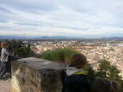 Avignon en famille - Colline St-Eutrope Orange - Jumeaux