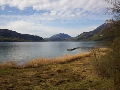 Sentier pédagogique espace naturel lac d'annecy