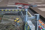 3d-street-painting-art-EPFL-chalk-leon-keer-space-invaders-anime-online-manga-tv-streaming-legal-gratuit-5
