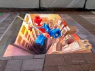 3d-street-painting-art-EPFL-chalk-leon-keer-spiderman-anime-online-manga-tv-streaming-legal-gratuit-2