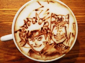 naruto-jiraya-Latte-Artist-Belcorno-Amazing-Anime-art-manga-online-streaming-legal-gratuit