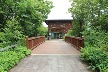 Eingangsbrücke