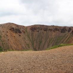 Ein Krater
