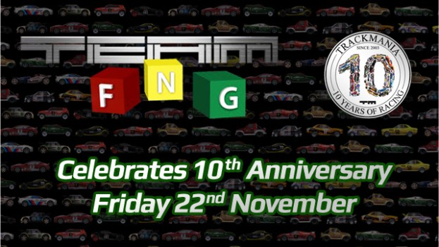 Friday Night Gamers TrackMania Anniversary