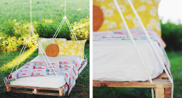 DIY Pallet Bench Swing Tutorial