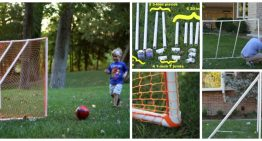 How to Make a DIY Football Goal (PVC)