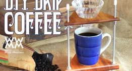 Simple Wood DIY Project – Pour Over Coffee Stand