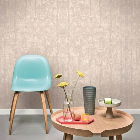 papier peint suspendu superfresco-easy-paste-the-wall-bois flotté-effet-gris-tourterelle