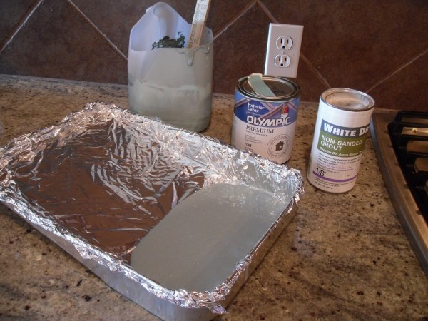 painting tricks aluminium foil tray Painting Tips for Beginners