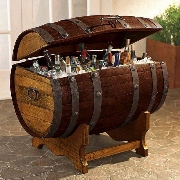 barrel fridge DIY Handy Mano ManoMano Mano Mano Handymano