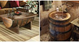 7 ways to use a barrel in your home