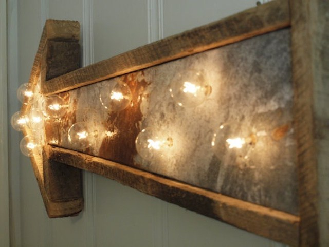 stunning lights DIY Arrow Handy Mano ManoMano Mano Mano Handymano
