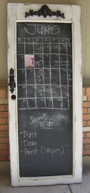 upcycled door projects Blackboard Handy Mano ManoMano Mano Mano Handymano