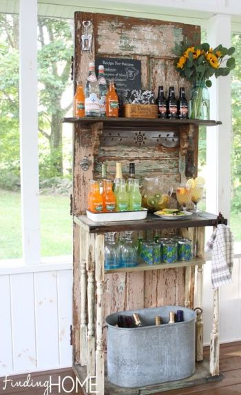 upcycled door projects Bar Handy Mano ManoMano Mano Mano Handymano