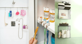 16 Genuis Bathroom Organisation Tricks