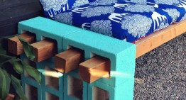 16 DIY Projects With Concrete Blocks