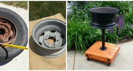 How To Make A DIY BBQ With A Tyre Rim