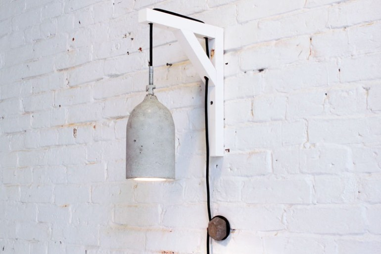 concrete pendant light DIY how to make the handy mano manomano