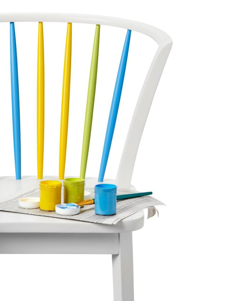 one pot paint projects DIY projects the handy mano manomano painted chair