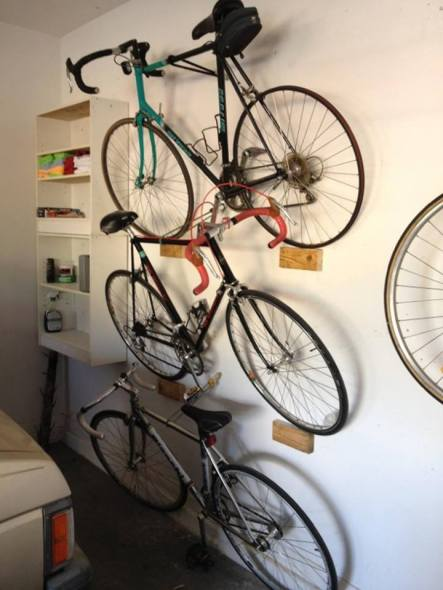 garage storage solutions uk ideas the handy mano manomano bike rack wall store