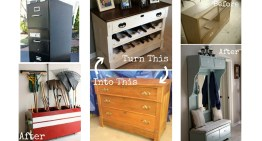11 Incredible Upcycled Furniture Transformations