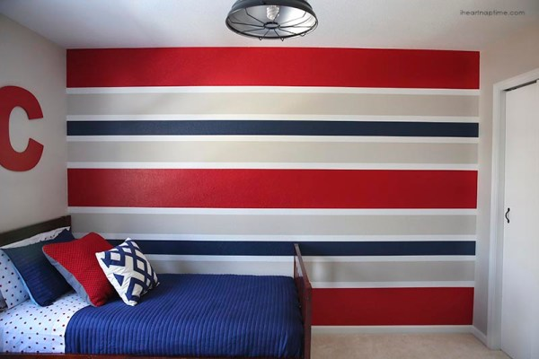 wall painting techniques technique the handy mano manomano stripes stripey wall paint DIY