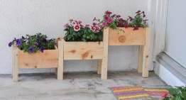 How To Make Tiered Wooden Planters For £10