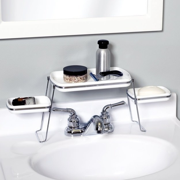 thehandymano the handy mano mano manomano small space solutions diy do it yourself over tap storage