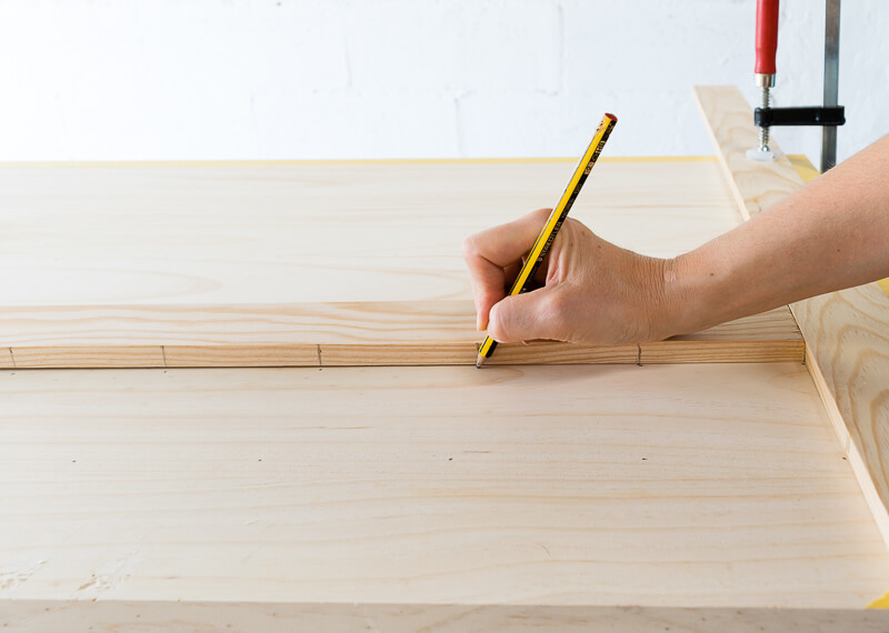 manomano mano mano the handy diy do it yourself projects build make do pegboard wood pencil drawing mark construction
