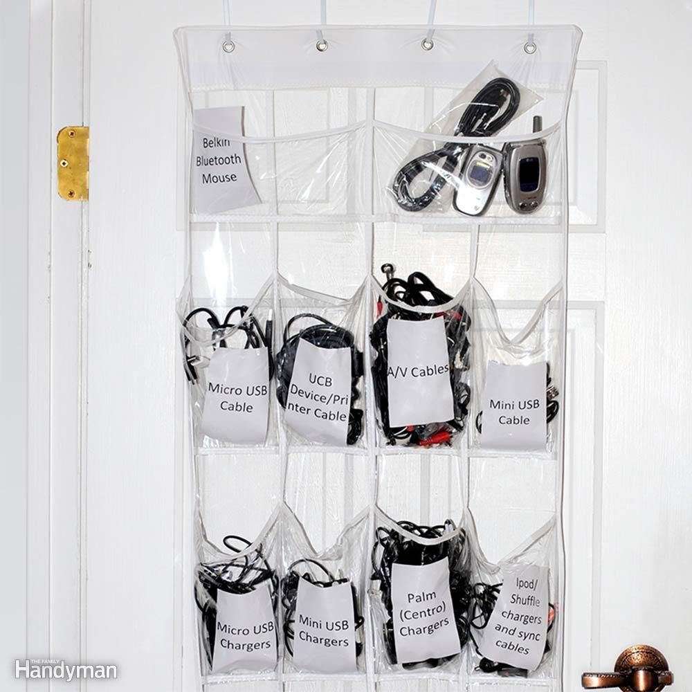 10 Clever Ways of Organising your Home the handy mano handymano manomano mano diy do it yourself projects home improvement organisation tips tricks hacks tidy shoe organiser door