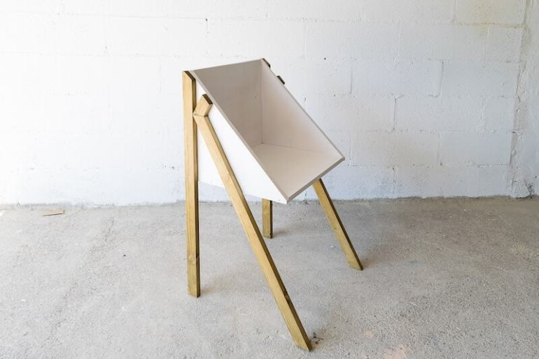 DIY Chair – Design Your Workspace Series do it yoursef mid century modern designed simple the handy mano manomano handymano mano completed finished chair